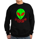 Abducted By Aliens Sweatshirt (dark)