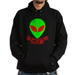 Abducted By Aliens Hoodie (dark)