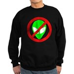 No More Aliens Sweatshirt (dark)