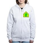 Alien School Xing Women's Zip Hoodie