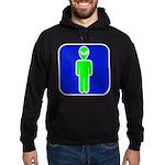 Alien Man Hoodie (dark)