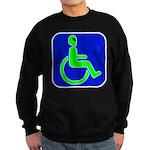 Handicapped Alien Sweatshirt (dark)