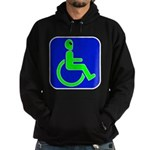 Handicapped Alien Hoodie (dark)