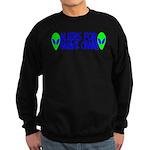 Aliens For Barack Obama Sweatshirt (dark)