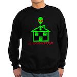 AlienShack Logo Sweatshirt (dark)