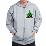 AlienShack Logo Zip Hoodie