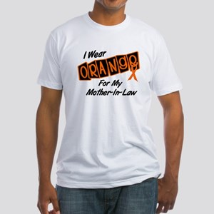 I Wear Orange For My Mother-In-Law 8 Fitted T-Shir