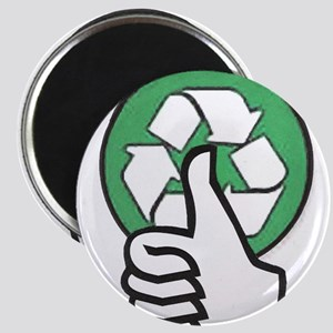 Sign Thumps-up Recycle Magnet