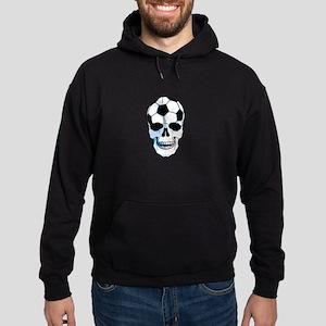 Hardcore Soccer Skull Hoodie (dark)