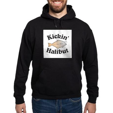 Kickin' Halibut Hoodie (dark)