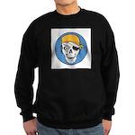Colored Pirate Skull Sweatshirt (dark)