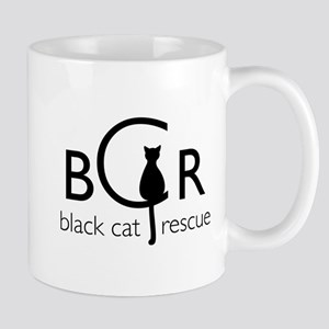 Black Cat Rescue Mug
