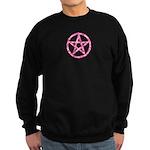 Pink Camo Pentagram Sweatshirt (dark)