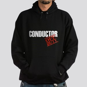 Off Duty Conductor Hoodie (dark)