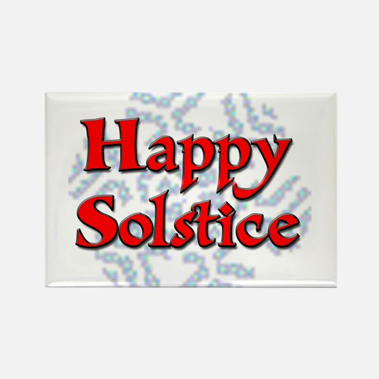 Happy Solstice Rectangle Magnet