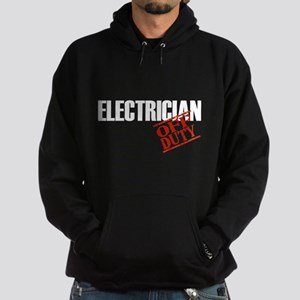 Off Duty Electrician Hoodie (dark)