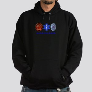 Superhero- Back Design Hoodie (dark)