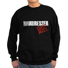 Off Duty Hairdresser Sweatshirt (dark)