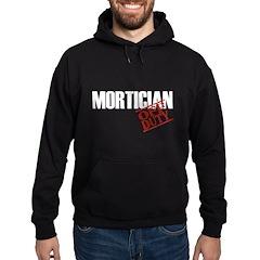 Off Duty Mortician Hoodie (dark)