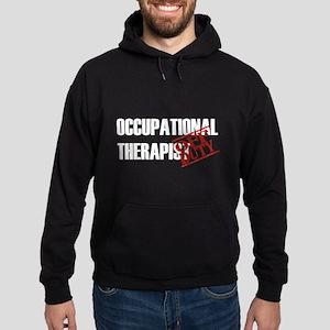 Off Duty Occupational Therapi Hoodie (dark)