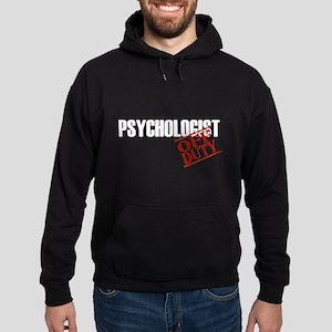 Off Duty Psychologist Hoodie (dark)