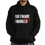 Off Duty Software Engineer Hoodie (dark)