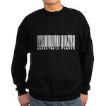 Basketball Player Barcode Sweatshirt (dark)