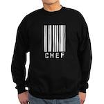 Chef Barcode Sweatshirt (dark)