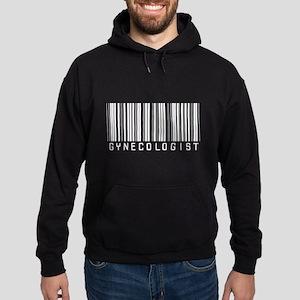 Gynecologist Barcode Hoodie (dark)
