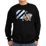 Rocky and the 3ID Patch Sweatshirt (dark)