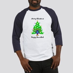 Hanukkah and Christmas Interfaith Baseball Jersey