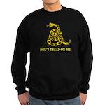 Don't Tread on Me Sweatshirt (dark)