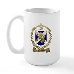ROUSSEAU Family Crest Large Mug