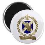 ROUSSEAU Family Crest Magnet