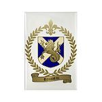 ROUSSEAU Family Crest Rectangle Magnet