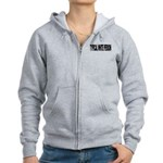 Typical White Person (L) Women's Zip Hoodie