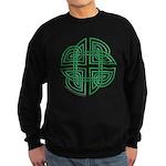 Celtic Four Leaf Clover Sweatshirt (dark)