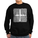 Celtic Square Cross Sweatshirt (dark)