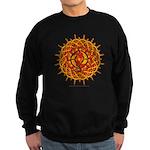 Celtic Knotwork Sun Sweatshirt (dark)