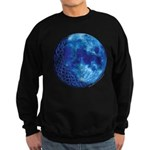 Celtic Knotwork Blue Moon Sweatshirt (dark)