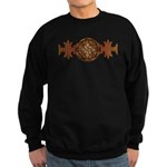 Celtic Knotwork Enamel Sweatshirt (dark)