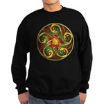 Celtic Pentacle Spiral Sweatshirt (dark)