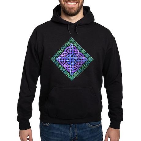 Celtic Watercolor Hoodie (dark)