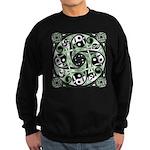 Celtic Spiral Stepping Stone Sweatshirt (dark)