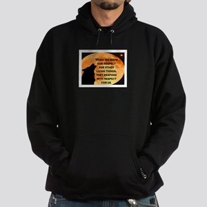 SHOW RESPECT FOR ALL Hoodie (dark)