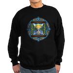 Celtic Sun-Moon Hourglass Sweatshirt (dark)