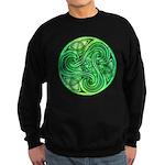 Celtic Triskele Sweatshirt (dark)