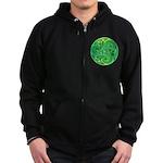 Celtic Triskele Zip Hoodie (dark)