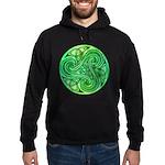 Celtic Triskele Hoodie (dark)