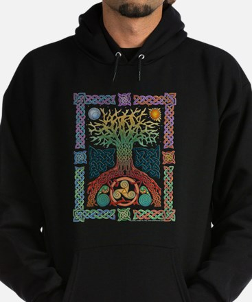Celtic Tree Of Life Hoodie (dark)